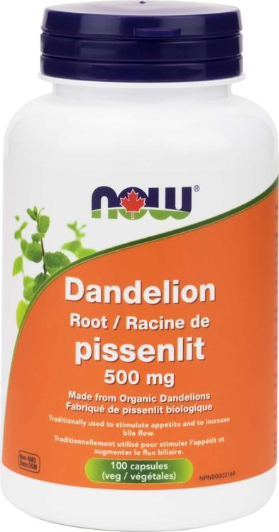 Dandelion Root 500mg 100vcap