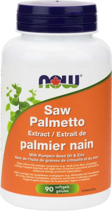 Saw Palmetto 80mg Std Ext+ 90gel