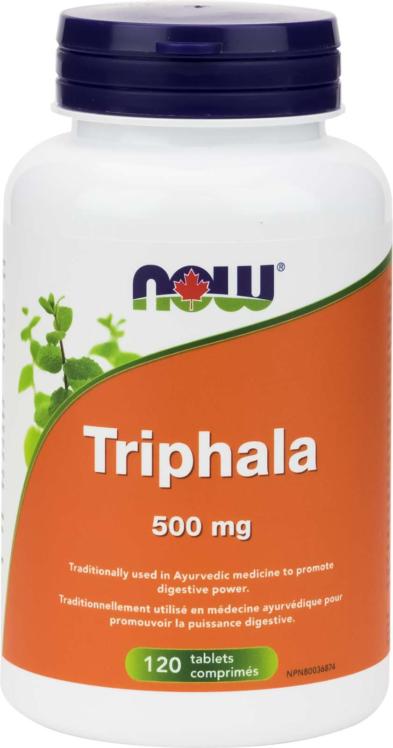 Triphala 500mg 120tab