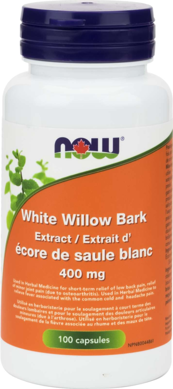 White Willow 400mg 100cap