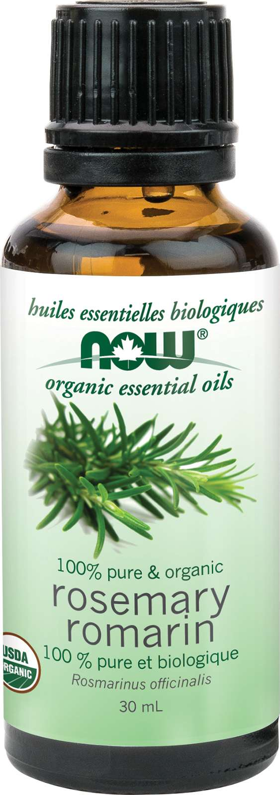 Organic Rosemary Oil (Rosmarinus officinalis) 30mL