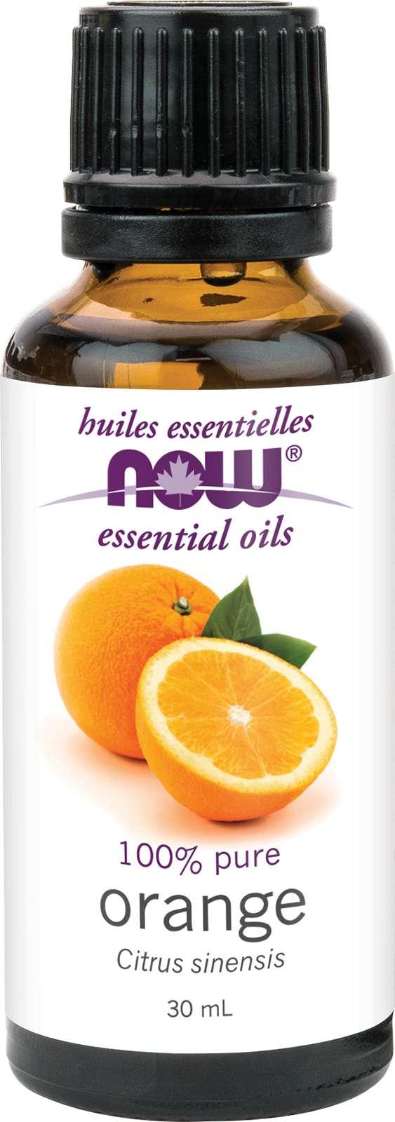 Orange Oil (Citrus sinensis)