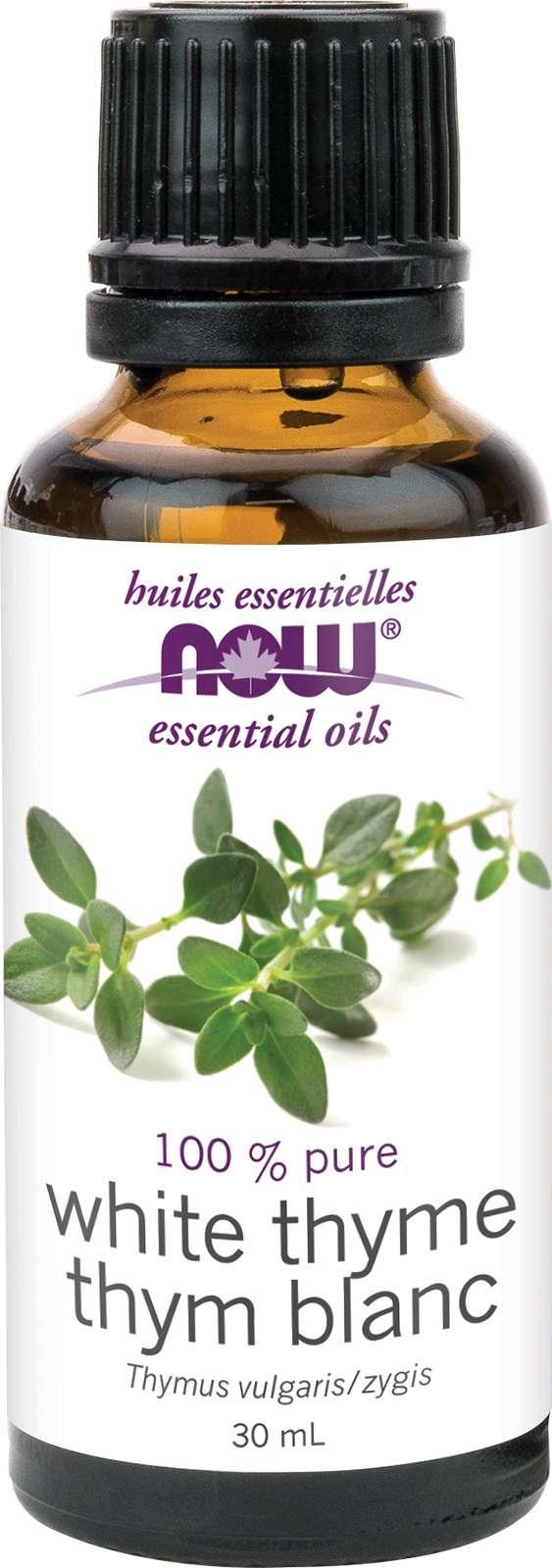 Thyme Oil, White (Thymus vulgaris/zygis) 30mL