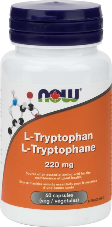 L-Tryptophan 220mg 60vcap