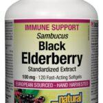 Natural Factors Black Elderberry