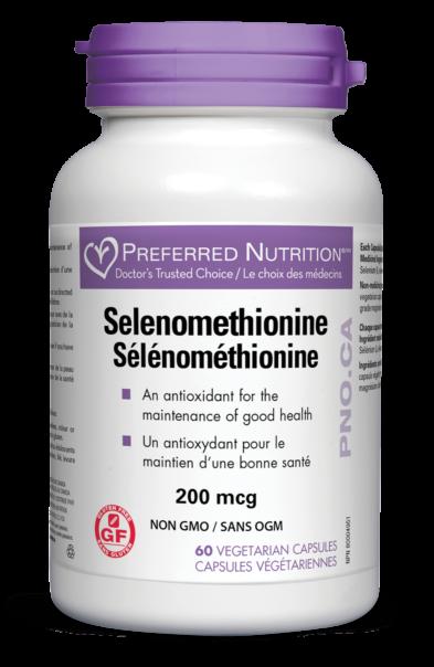 Selenomethionine 200mcg 60 vegicaps