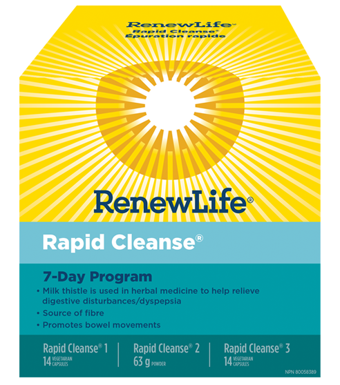 Renew Life® Rapid Cleanse, 7 Day Program, 1 Kit