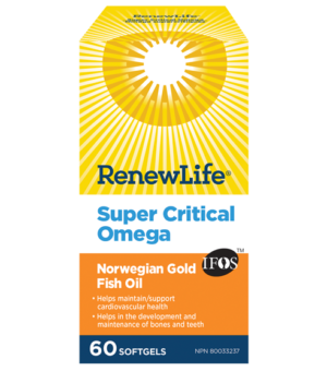 Renew Life® Super Critical Omega Norwegian Gold, Fish Oil and Omega 3's