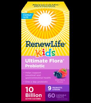 Renew Life® Ultimate Flora® Kids Probiotic, 10 Billion Active Cultures