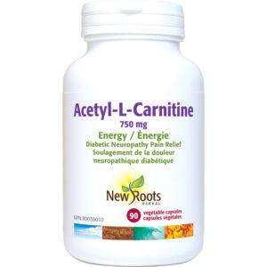Acetyl-L-Carnitine 750mg per Capsule 90capsules