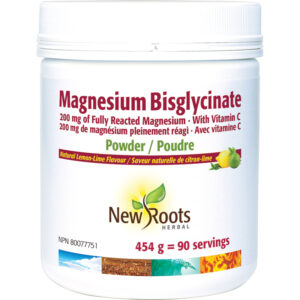 Magnesium Bisglycinate Fully Reacted Magnesium · With Vitamin C
