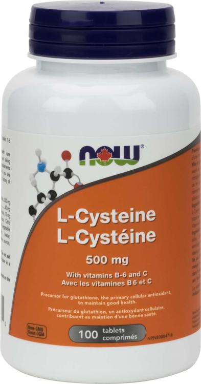 L-Cysteine 500mg 100tab