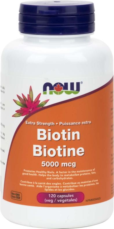Biotin 5,000mcg 60vcap