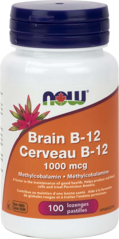 Brain B-12 Methyl form 1000mcg 100Loz