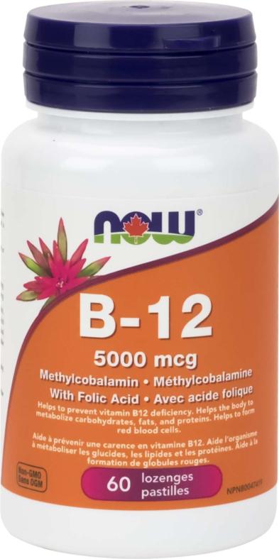 B-12 Methyl form 5000mcg 60Loz