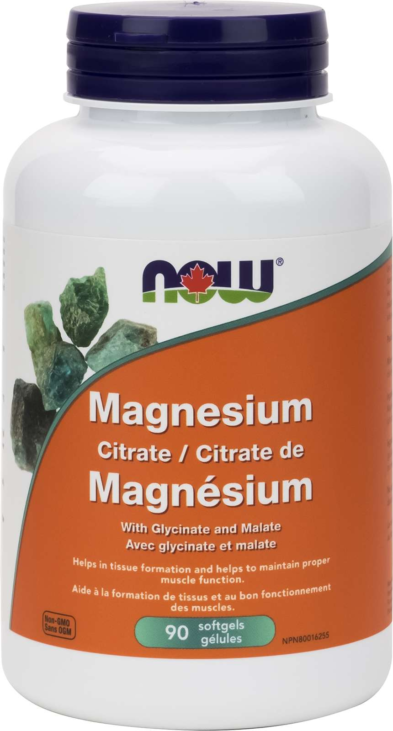 Magnesium Citrate/Glycinate/Malate 134mg