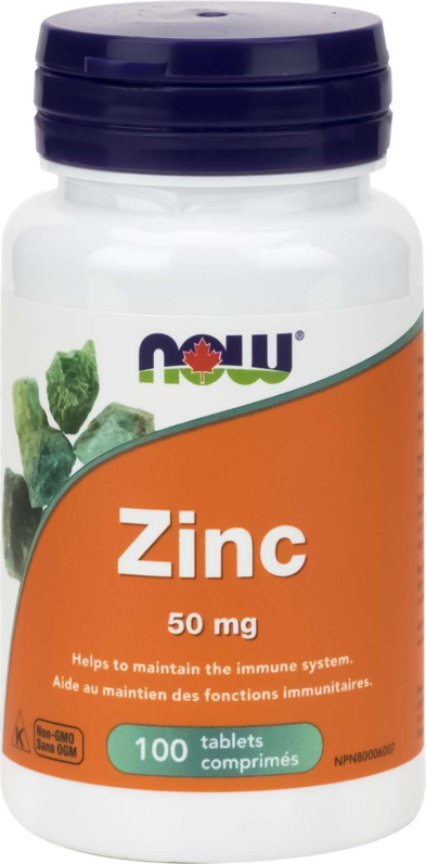 Zinc Gluconate 50mg 100tab