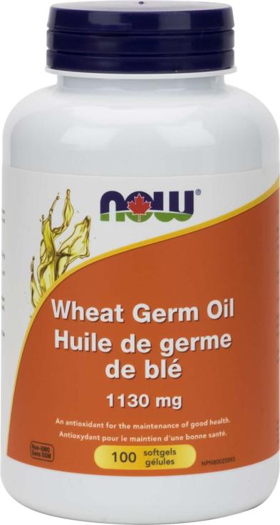 Wheat Germ Oil 100gel