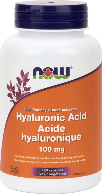 Hyaluronic Acid 100mg + Antioxidants 120vcap