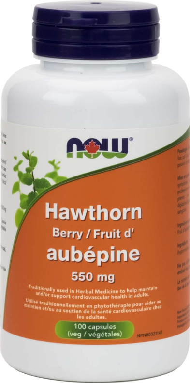 Hawthorn Berry 550mg 100vcap