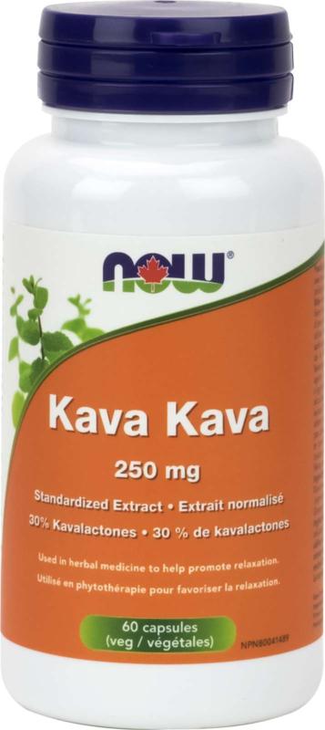 Kava Kava Ext 250mg w/Sib Ginseng 100mg 60vcap