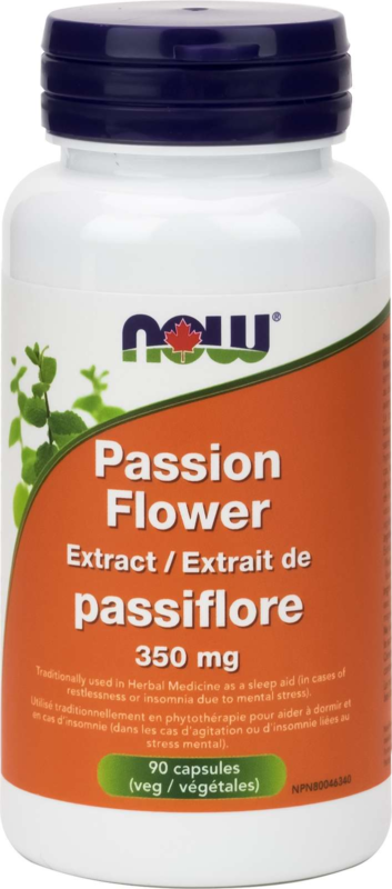 Passion Flower Ext 350mg 90vcap