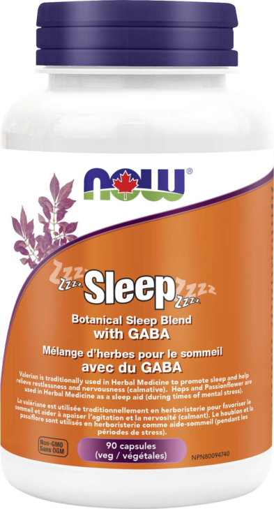 Sleep - Botanical Sleep Blend with GABA 90vcap NEW
