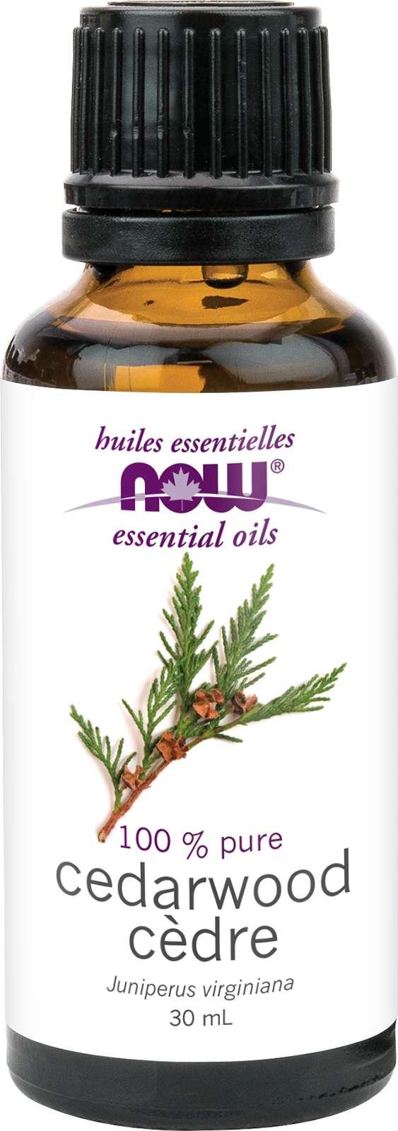 Cedarwood Oil (Juniperus virginiana) 30mL