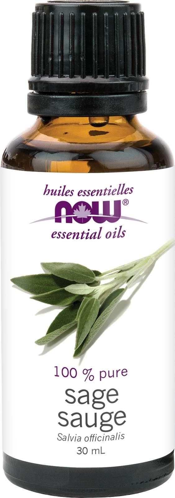 Sage Oil (Salvia officinalis) 30mL