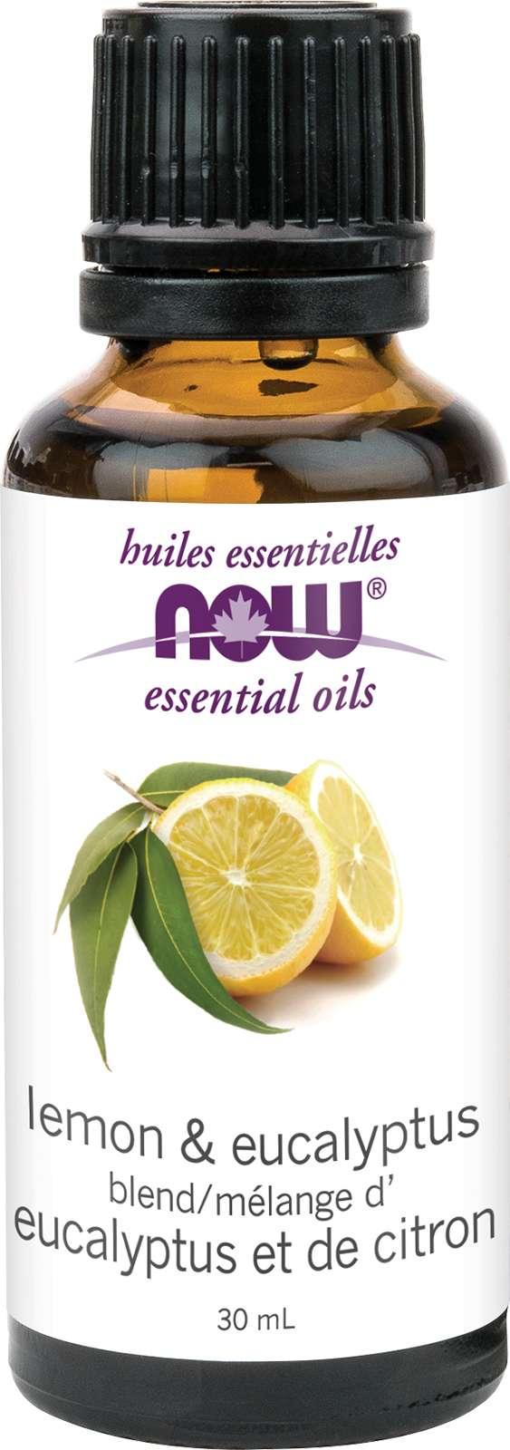 Lemon & Eucalyptus Oil Blend 30mL