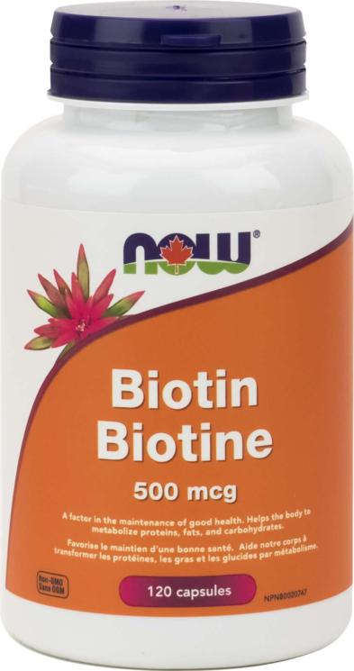 Biotin 500mcg 120cap