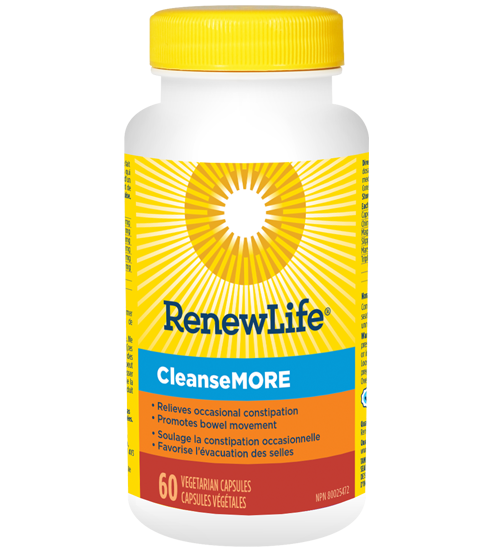 Renew Life® CleanseMORE®, Constipation Relief