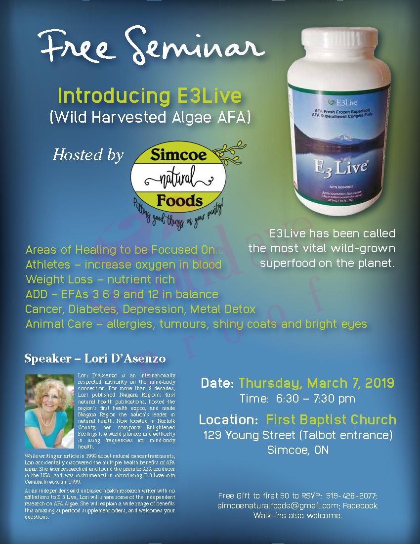 Register Now for Our E3Live Seminar