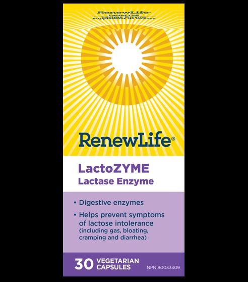 LactoZYME®, 30 Capsules