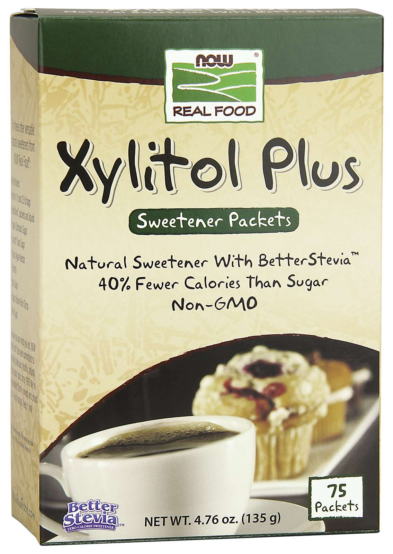 Xylitol Plus (Xylitol/Stevia) 75 Packets