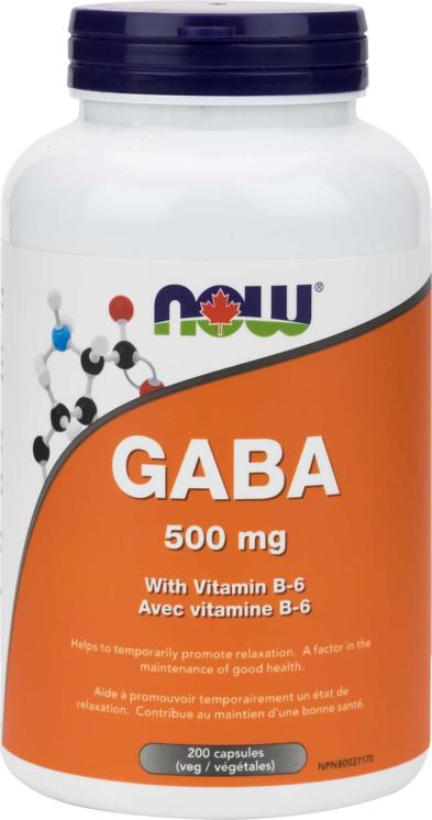 GABA 500mg + B-6 200vcap