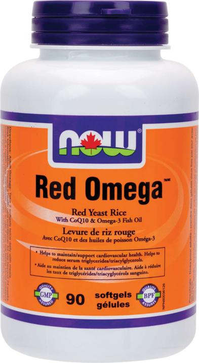 Red Omega w/300mg RYR+CoQ10+Omega3 90gel