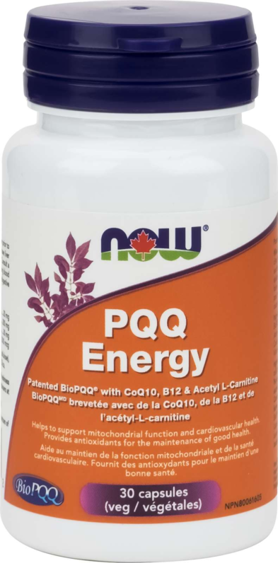 PQQ Energy 20 mg w/Cofactors 30vcap