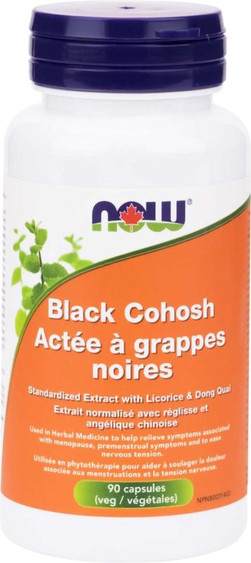 Black Cohosh 2.5% Ext 80mg 90vcap