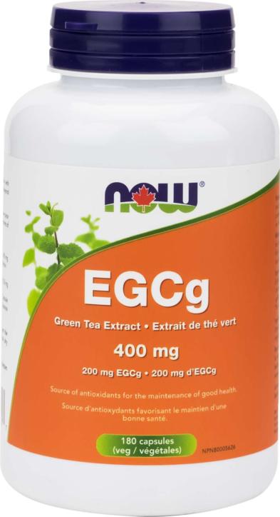 EGCg GreenTea Ext 400mg (EGCg 200mg) 180vcap