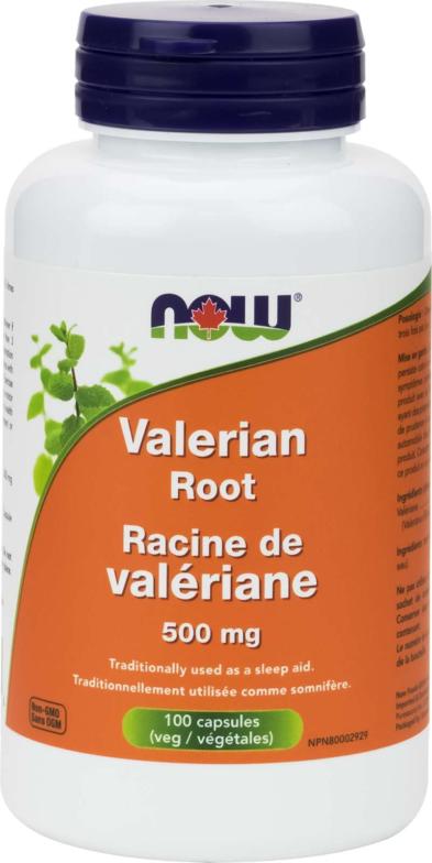 Valerian Root 500mg 100vcap