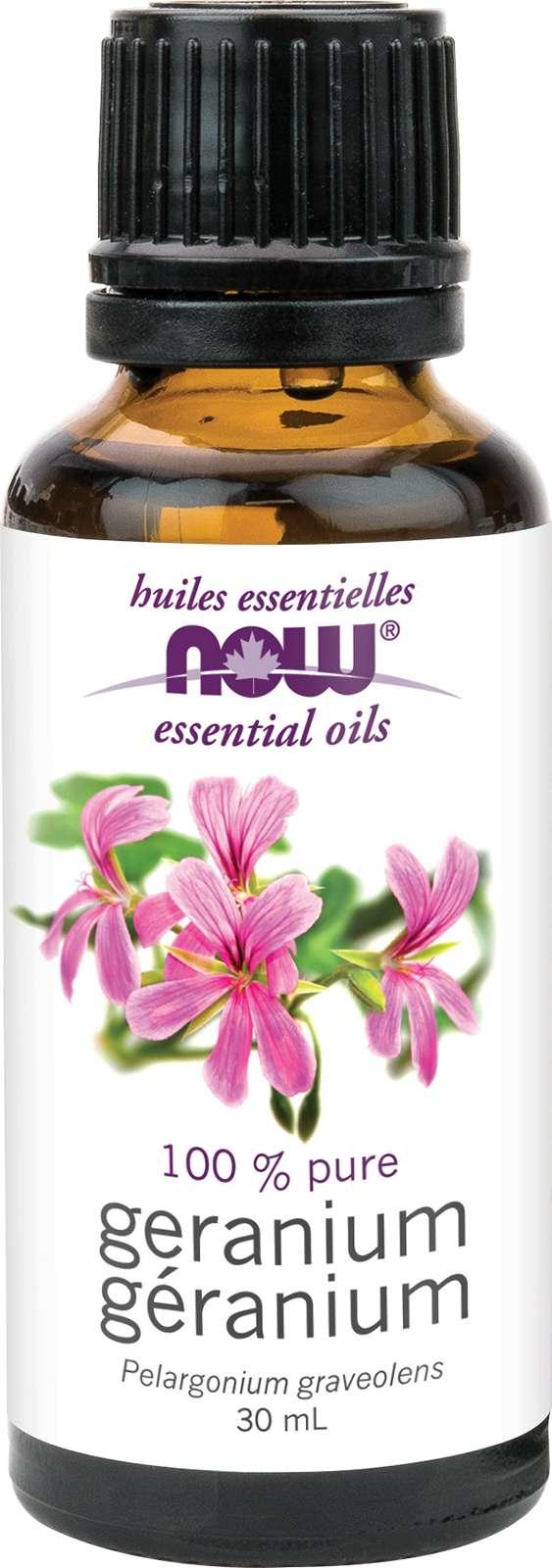 Geranium Oil (Pelargonium graveolens) 30mL