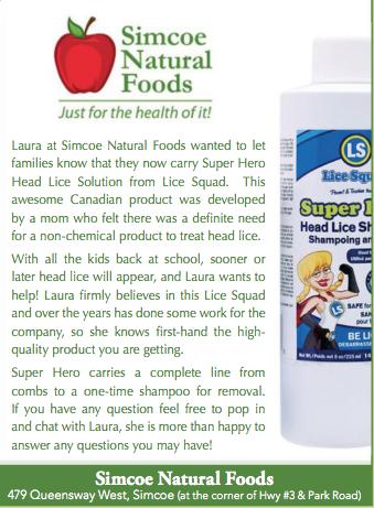 Super Hero Lice Solution