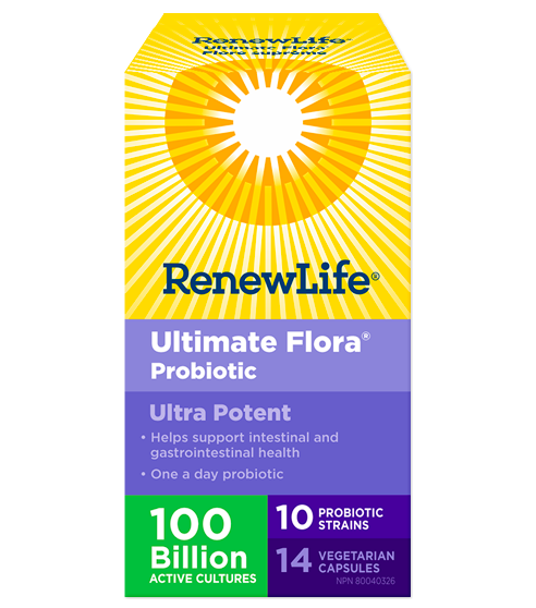 Ultimate Flora® Ultra Potent, 100 Billion Active Cultures